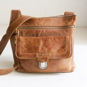 Classic Roots Canada Medium Brown  Crossbody everyday Bag